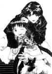 Misato, Shinji to Penpen
