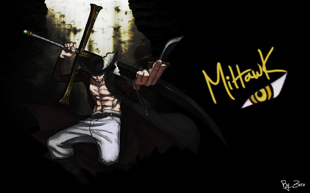 One Piece HD Wallpaper_Takanome Mihawk