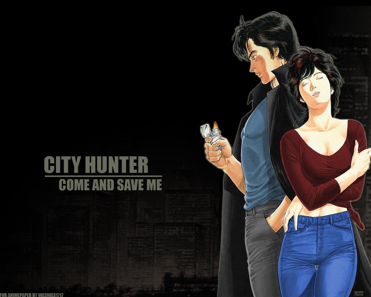 City Hunter Come And Save Me By Waswas1717 On Deviantart