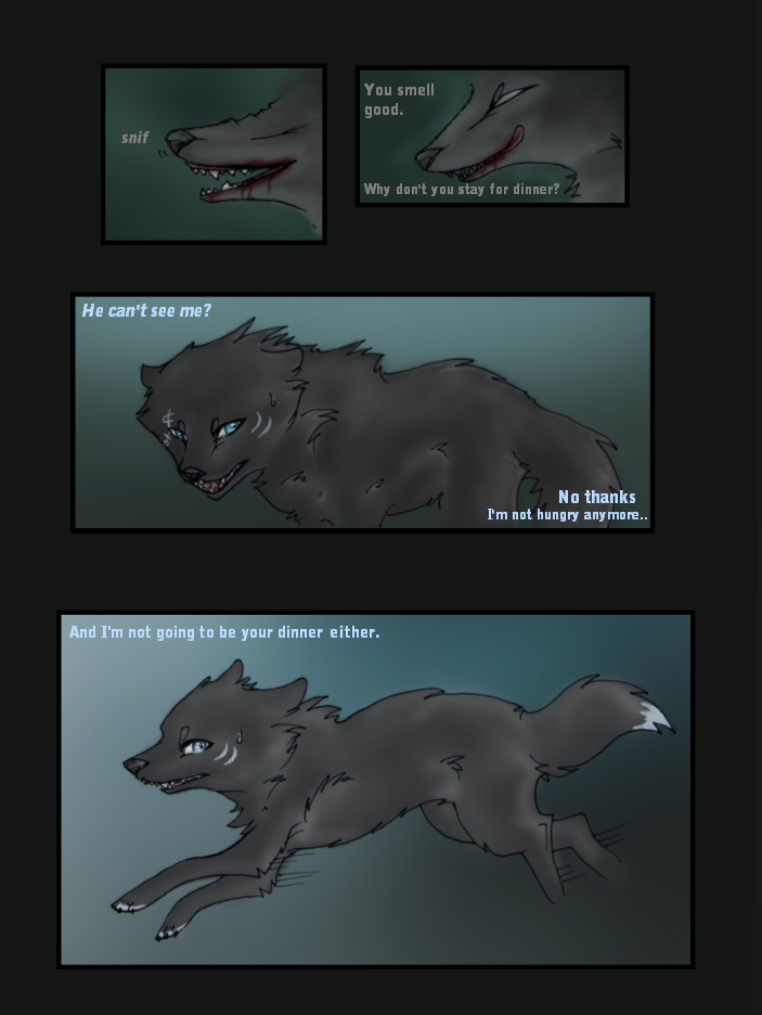 Damn, you didn't get zombie wolf.