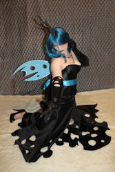 My little pony Queen Chrysalis Cosplay 1