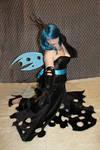 My little pony Queen Chrysalis Cosplay 1 by Flitzichen