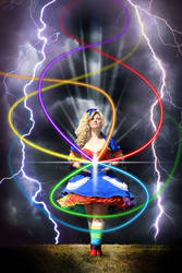 Rainbow Brite Cosplay by NoFlutter II
