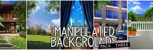 Manipulated Backgrounds Pack 3