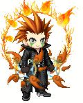 Axel - Blazing Fury by MoonlightDefender