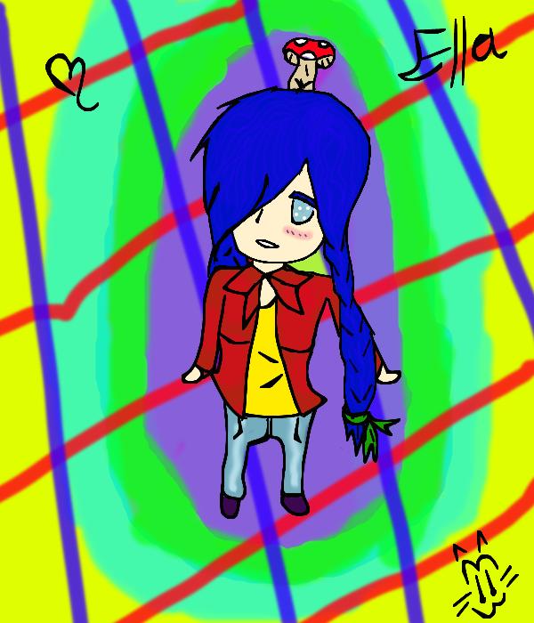 Chibi Ella!! by Art-game-lover
