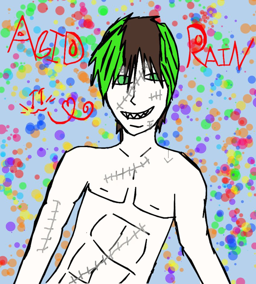 Acid Rain!! by Art-game-lover