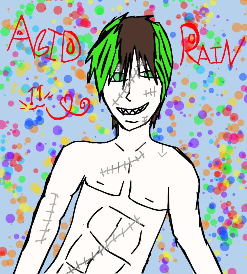 Acid Rain!! by Art-game-lover