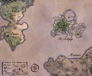 Map of Taire by AfterTheNonSequitur