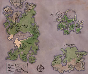 Map of Taire Redux by AfterTheNonSequitur