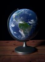 A Globe by Icesturm