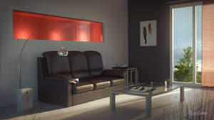 Modern Interior by Icesturm