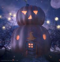 A Pumpkin House by Icesturm