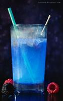 Fluorescence by Icesturm