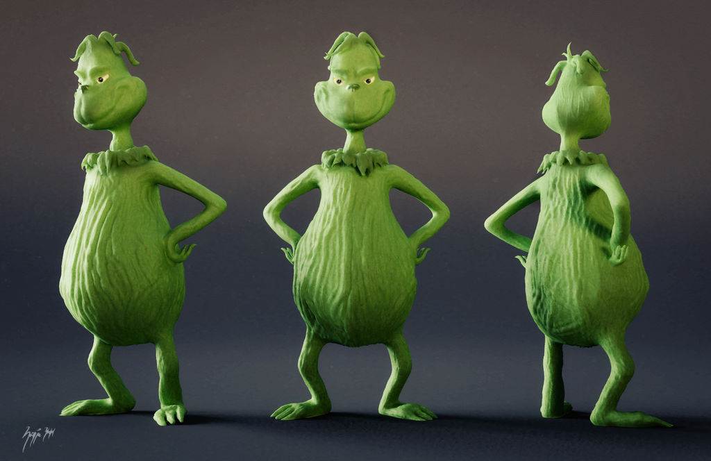 The Grinch by Icesturm