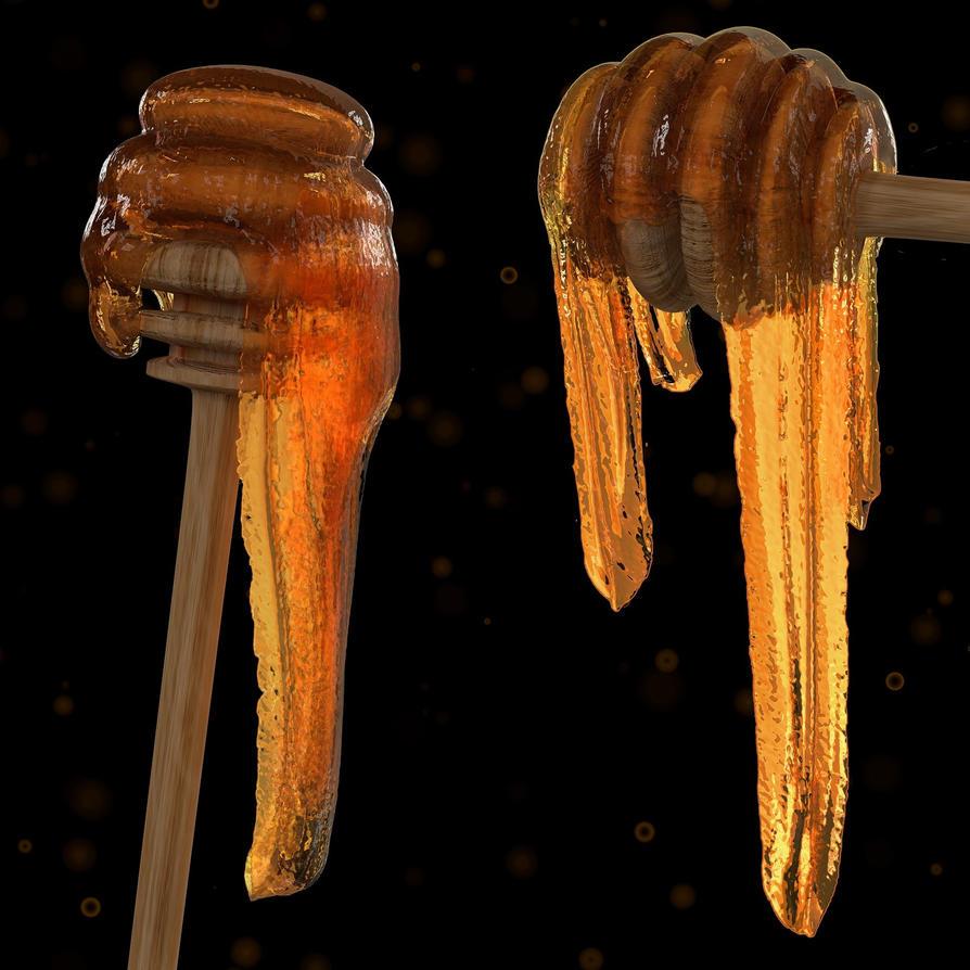 Honey Stick by Icesturm