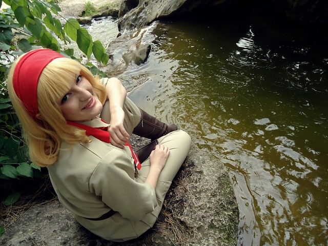 Hetalia: by the river by Mangestu001