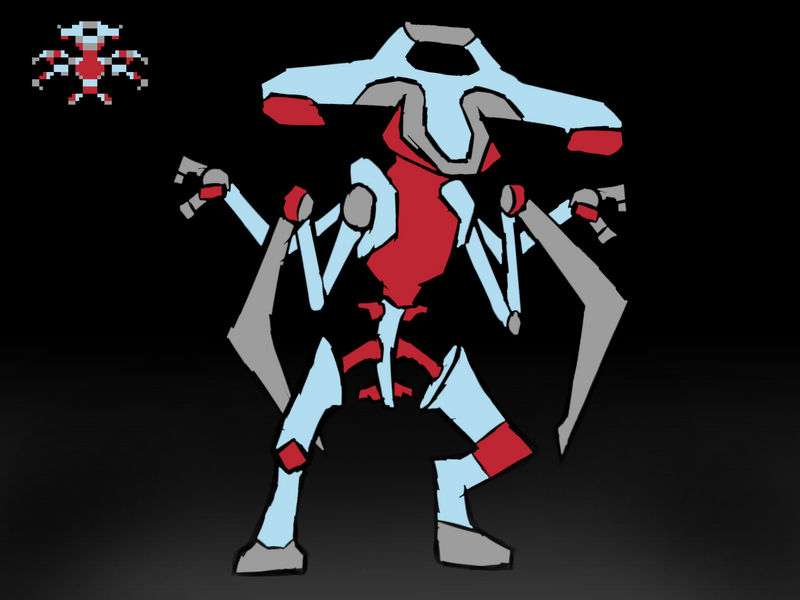 Metal Bug -- Random sprite generator character by BlueFireWiz on