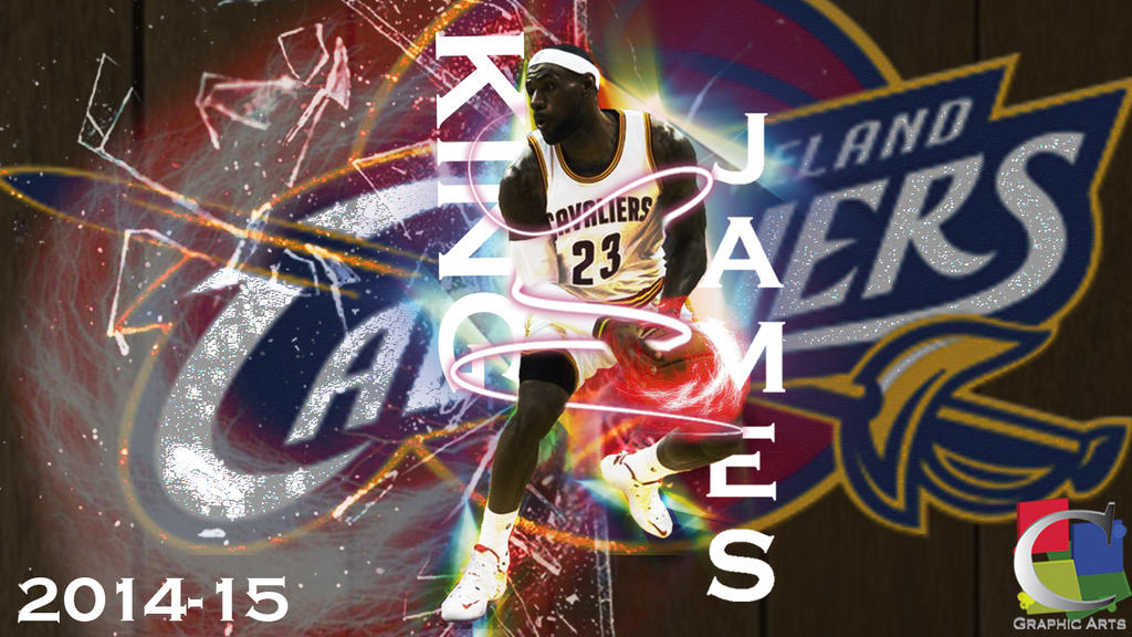 LeBron James Cleveland Cavaliers 2014 Wallpaper By CGraphicArts