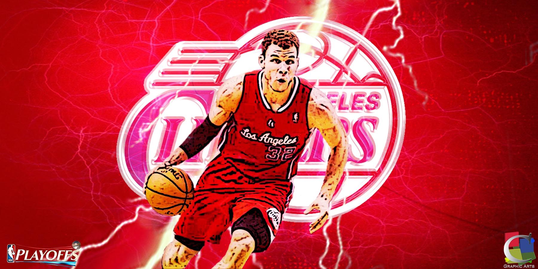 blake griffin wallpapercgraphicarts on deviantart