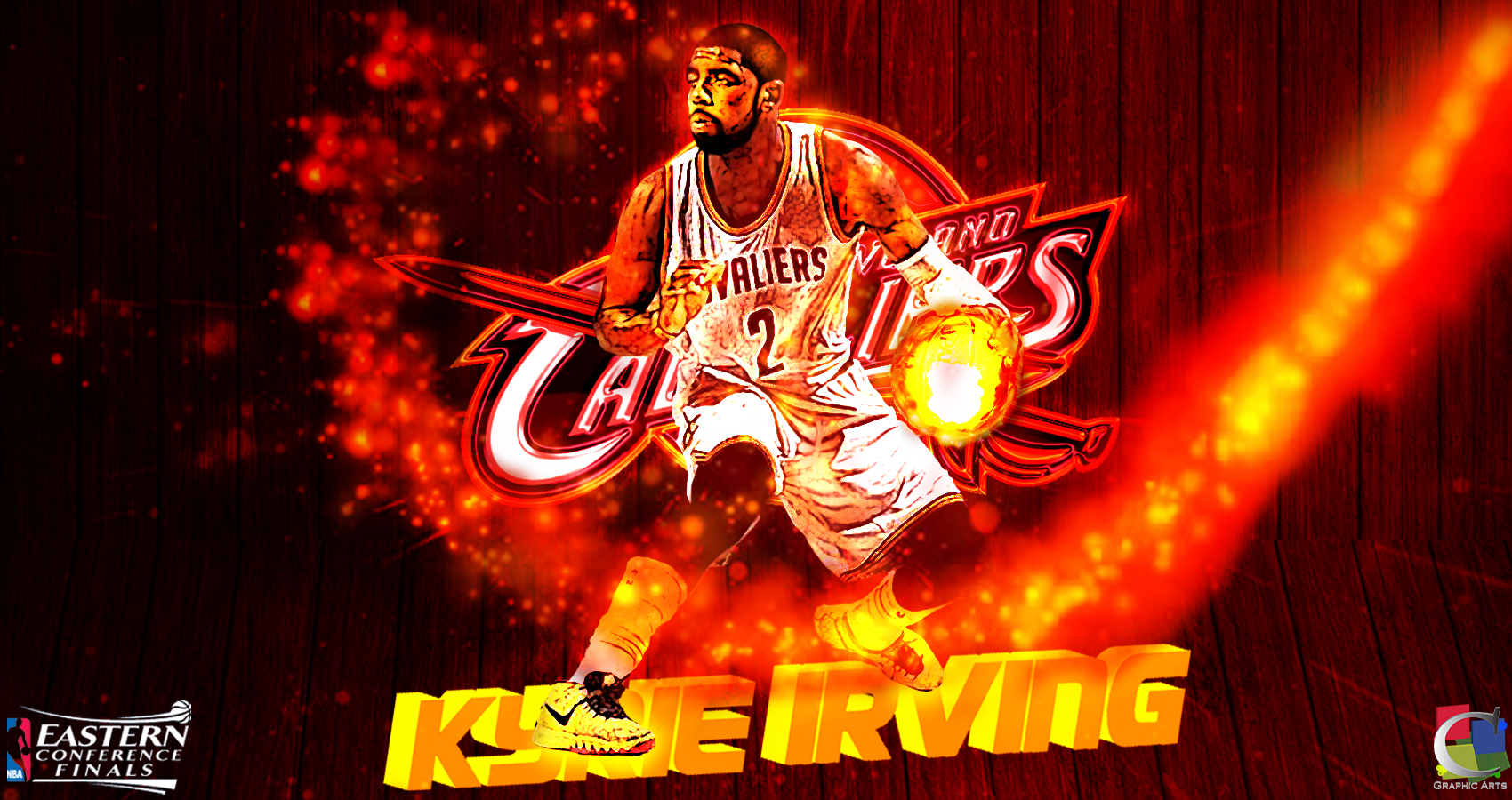 Kyrie Irving Wallpaper EASTERN CONFERENCE FINALS by ...