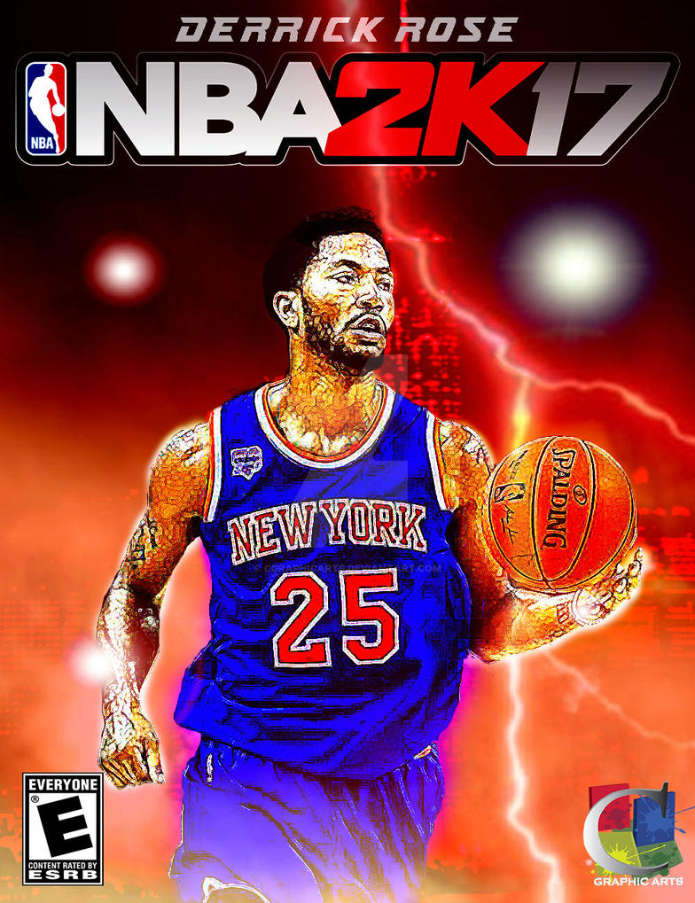 6c73675924a Derrick Rose NBA 2K17 by CGraphicArts on DeviantArt