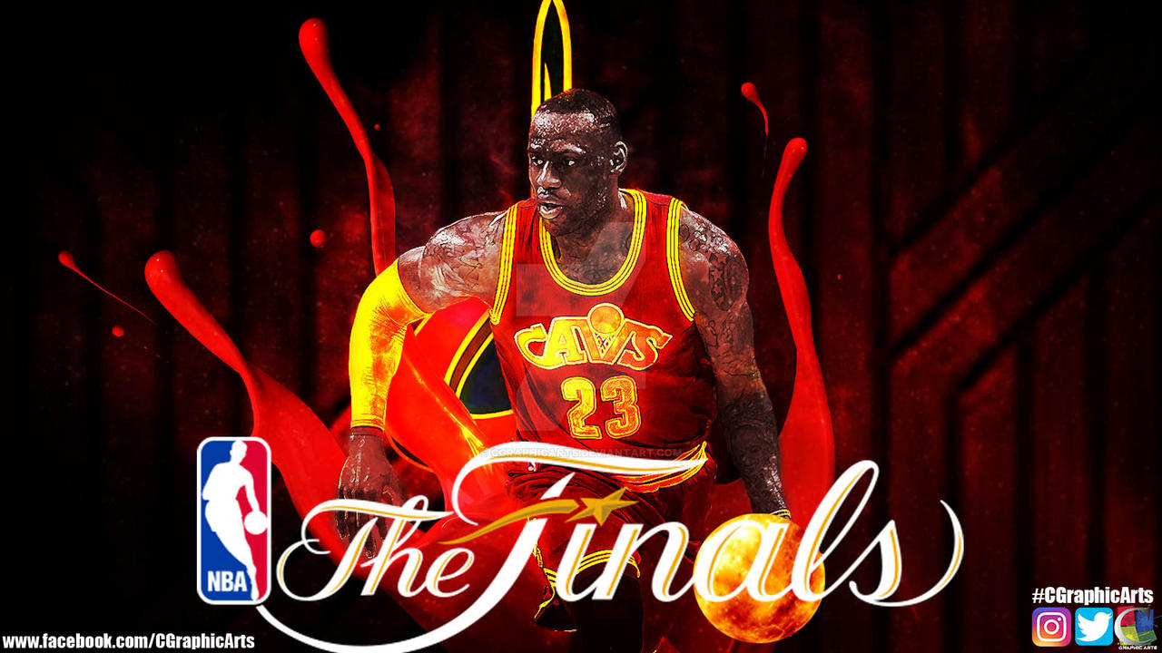 LeBron James NBA Finals Wallpaper by CGraphicArts on ...
