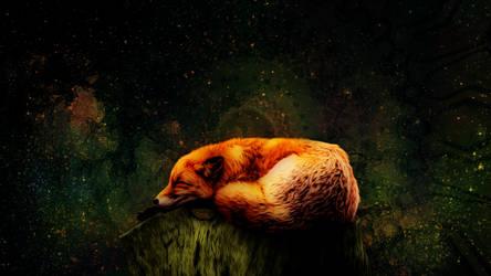 Sleeping fox 1920x1080p v3 AbstractBg Misko.png