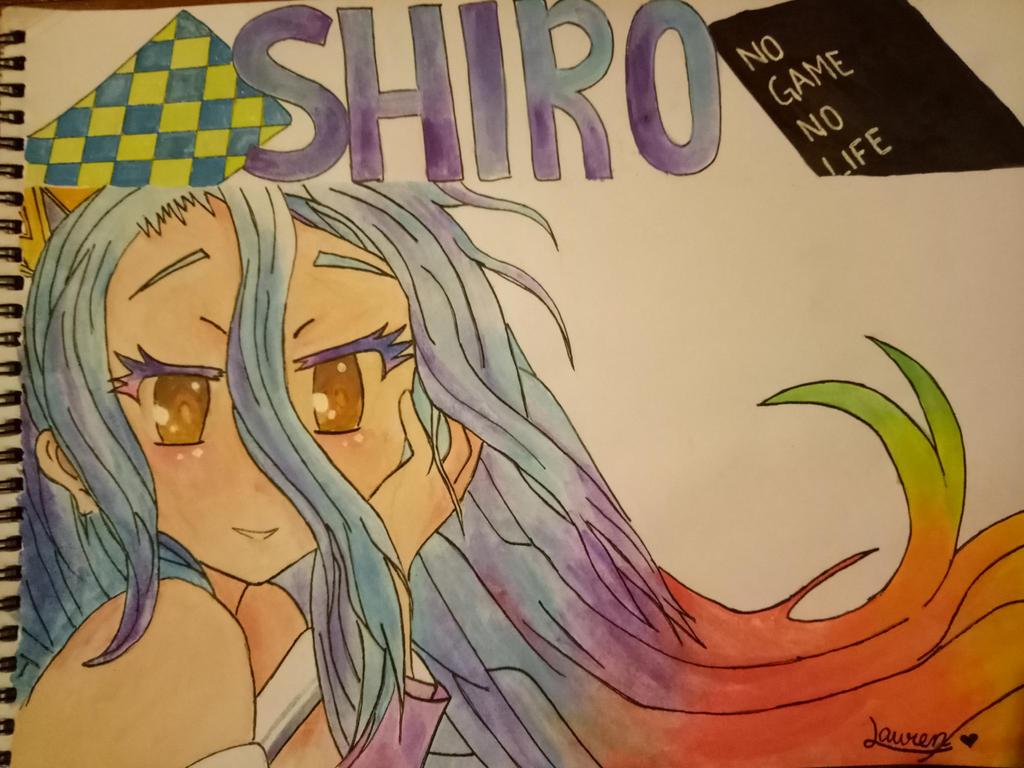 No Game No Life (Shiro) by LaurGalaxyLover