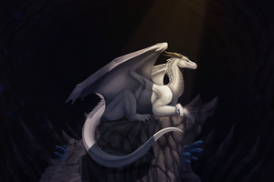 Commission - The Dragon's Lair by FireDragon97