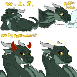Commission - Hondra Stickers
