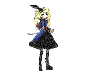 Pirate Princess by DaemonP