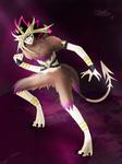 YGO: Furry Demon by StellarChrondrite