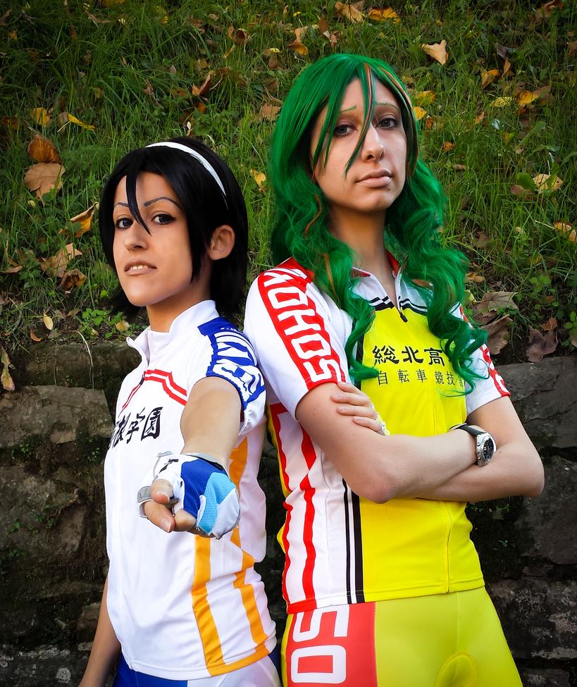 Makishima and Toudou cosplay by Kenoma