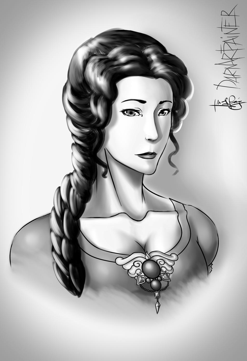 Princess Margit by DarnArtPainter