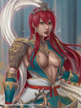 Erza Scarlet (Nakagami Armor) - Fairy Tail