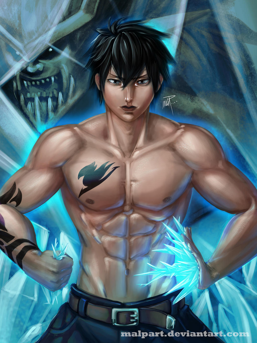 Gray Fullbuster - Fairy Tail by MALPart on DeviantArt