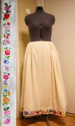 Daughter's wedding skirt