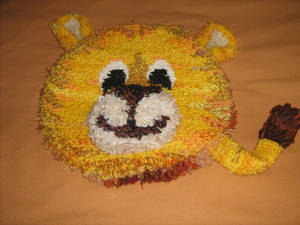 Lion pillow
