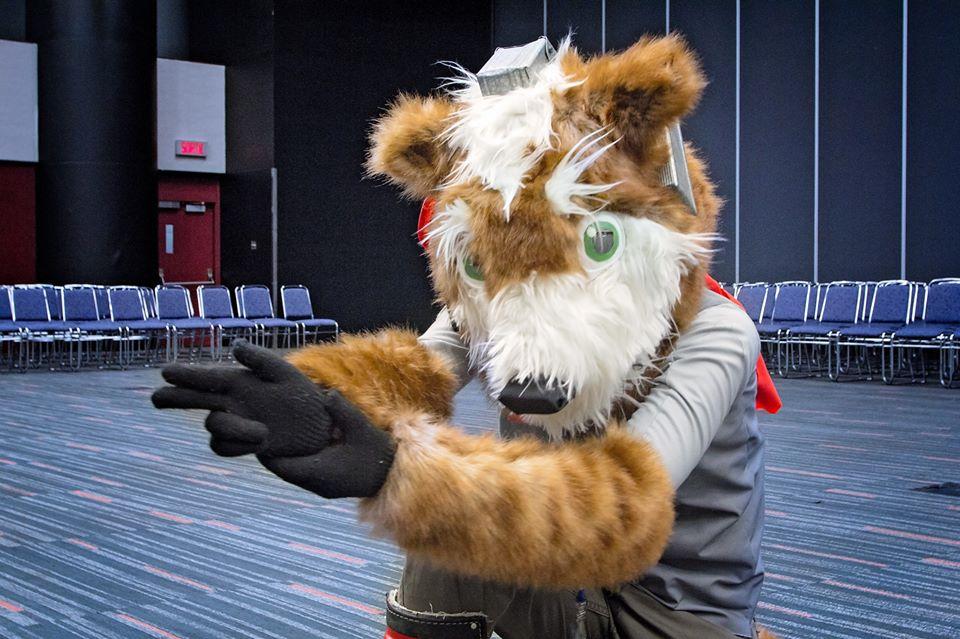 Fox McCloud Fursuit by CrazyLittleWolf