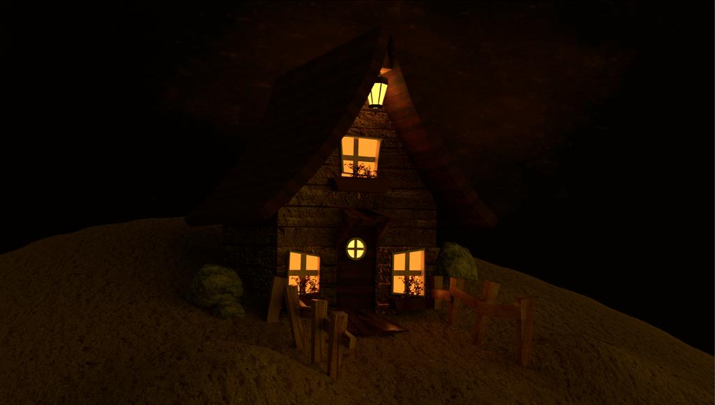 Little House by CrazyLittleWolf