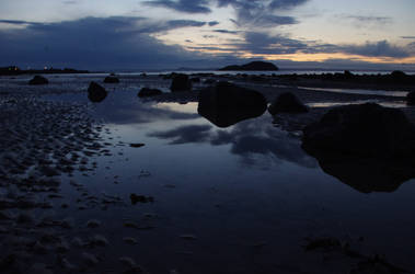 North Berwick Shore Reflects 1 by wee-pixie-panda