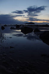 North Berwick Shore Reflects 2 by wee-pixie-panda