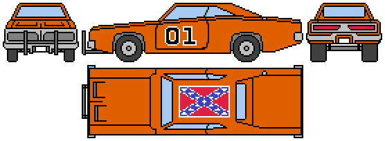Genral lee dodge charger sprite by kieranfilth on deviantart genral lee dodge charger sprite by kieranfilth sciox Image collections