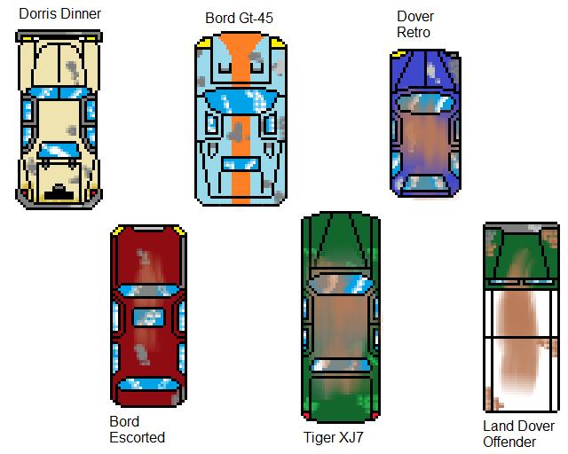 Car Sprites by KieranFilth on DeviantArt
