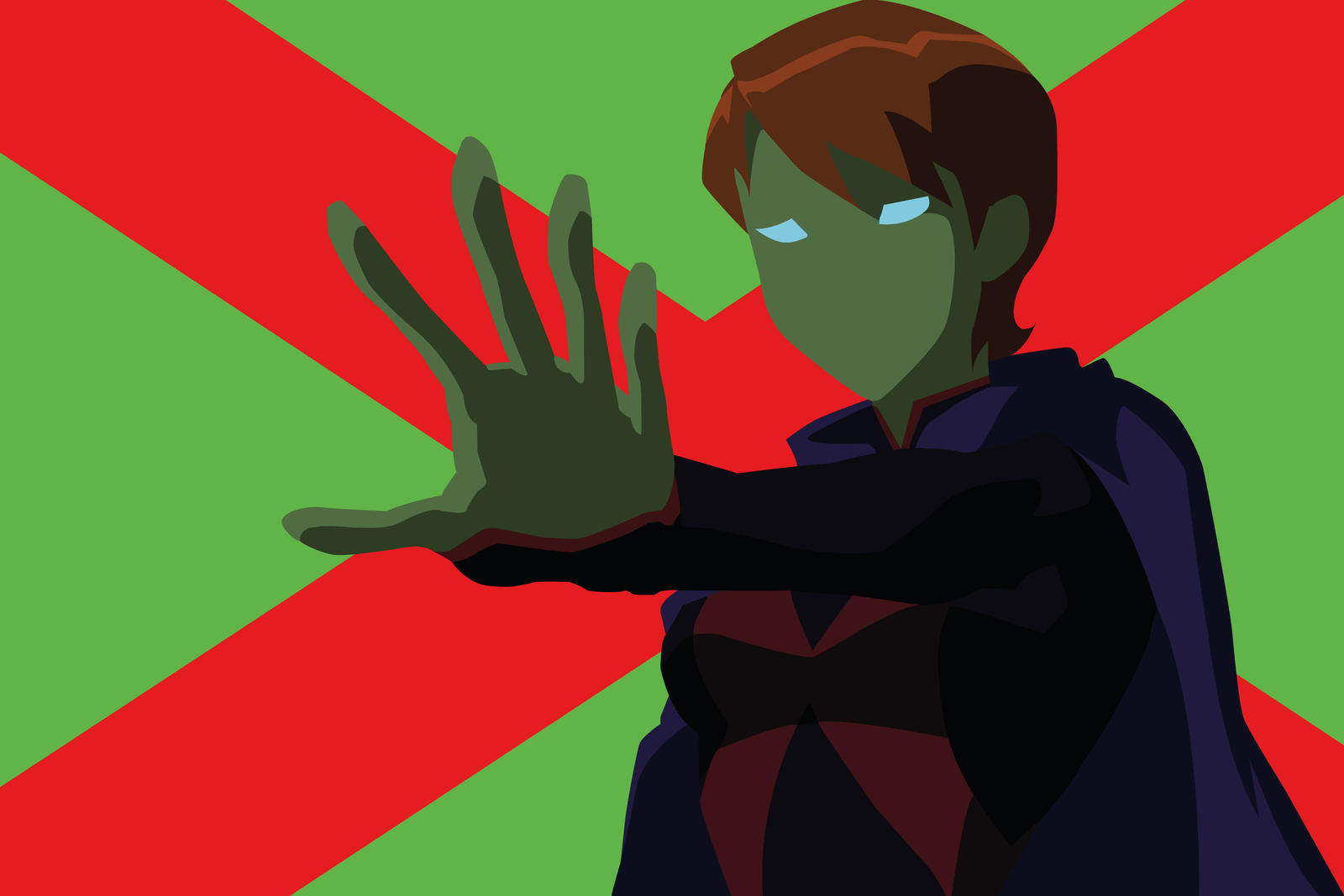 Young justice miss martian human