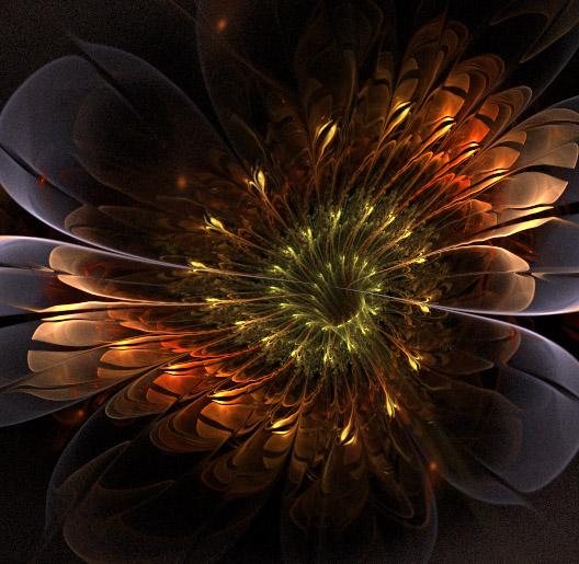 Night flower. by Kondratij
