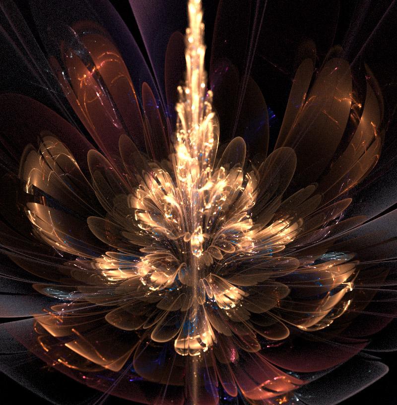 Flower fireworks. by Kondratij