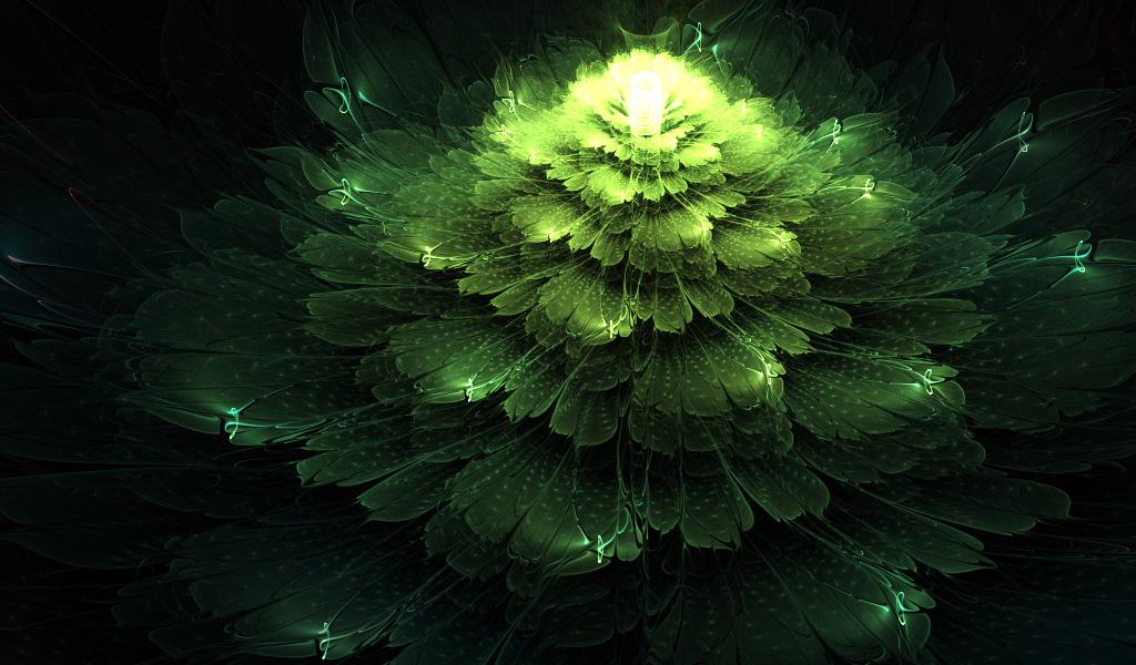 Swamp Flower. by Kondratij