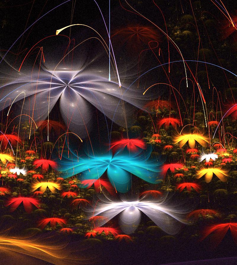 Tango of the summer night. by Kondratij